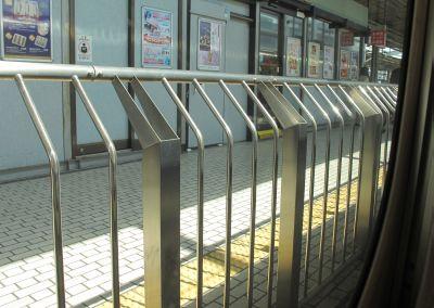 安全柵 新幹線京都駅